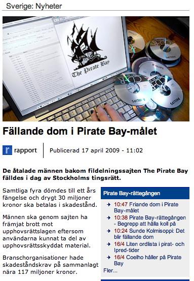 Rattegangen mot pirate bay dag 5